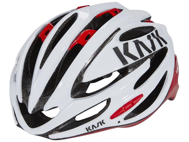 Kask Vertigo 2.0 Helm weiß/rot